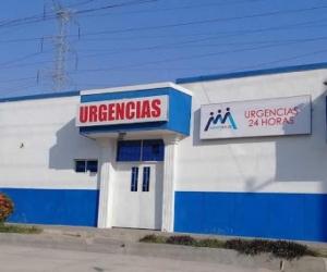 Centro de salud a donde fue llevado el menor de edad.