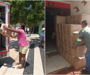 Mercados entregados por los trabajadores del Grupo Daabon