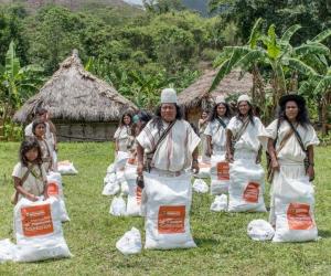 Las ayudas benefician cerca de 3 mil 500 indígenas.