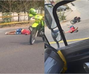 El accidente se registró en la mañana de este jueves.