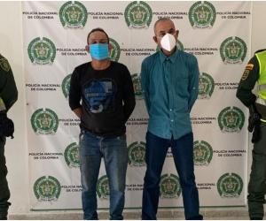 Los presuntos homicidas fueron identificados como Ángel Valdez Zarraga, de 36 años de edad, de nacionalidad venezolana y Otilio Polo Camargo, de 56 años, colombiano.