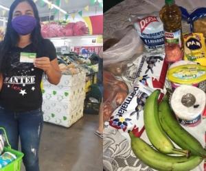 Un bono de 50 mil pesos es el que reciben los jóvenes beneficiarios, con el que pueden adquirir alimentos y productos de primera necesidad.