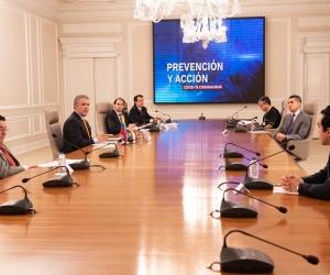 El Presidente Duque destacó que la segunda etapa ya se inició y la meta es llegar a 1,7 millones de hogares.