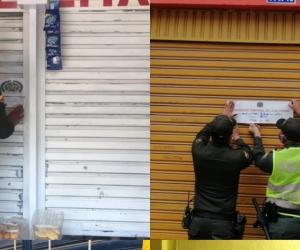 La Policía ha cerrado 42 establecimientos comerciales en el perímetro rural y  urbano del área metropolitana durante la cuarentena.