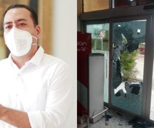 Jaime Peña Peñaranda aseguró que quienes participaron en los hechos vandálicos  deberán responder ante las autoridades competentes.
