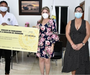 Donación de Edumag al Distrito.