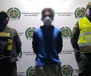José Candelario fue aprehendido en la transversal 5 a N°38.
