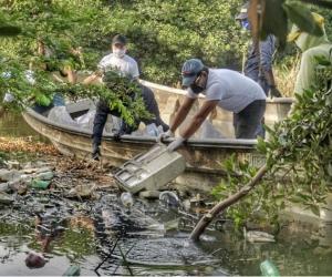 Acciones en el río Manzanares.