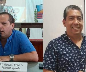 Velásquez y Noya mostraron su desacuerdo con la intervención.