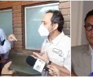 Carlos Caicedo, gobernador del Magdalena, se pronunció en varios  medios nacionales sobre la bochornosa encerrona a la Supersalud.
