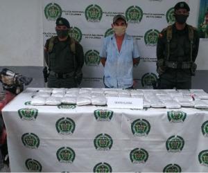 Capturado con marihuana en Tucirinca.