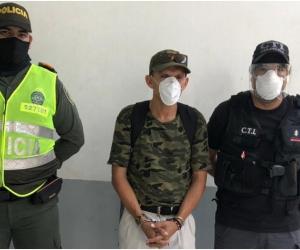 La aprehensión de Martínez Tabares se llevó a cabo el viernes cerca de las 3:30 de la tarde, gracias a la orden de emitida por Juzgado Único Promiscuo Municipal de Sitionuevo.