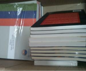 Algunos de los libros donados por Unimagdalena.