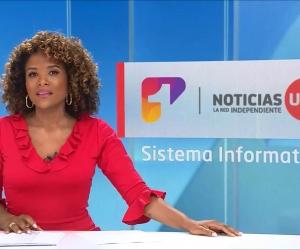 Mabel Lara, presentadora del Canal UNO