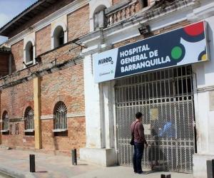 Hospital General de Barranquilla.