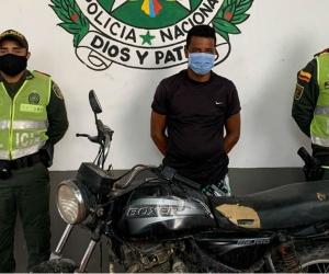 Ciudadano venezolano capturado en Zona Bananera.