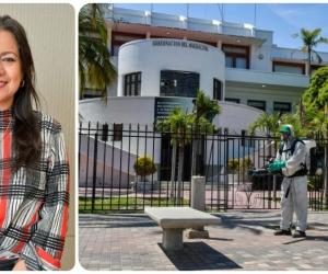 Shirley Santamaría es la jefe de comunicaciones de la Gobernación del Magdalena.