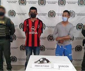Capturados por homicidio en El Banco.