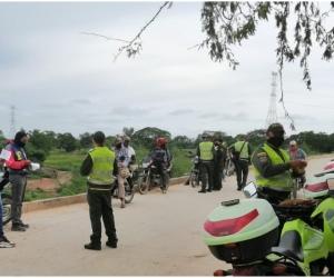 Más de 7 mil comparendos por afectación a la convivencia y más de 1400 por infringir las normas de tránsito terrestre.