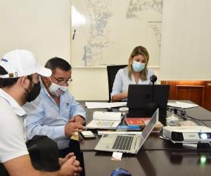 Alcaldesa agradeció a MinDeportes por ratificar el respaldo en la realización de estos certámenes a Santa Marta y el Magdalena