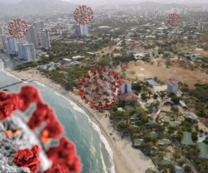 En Santa Marta se dieron la mayoría de los fallecidos por coronavirus.