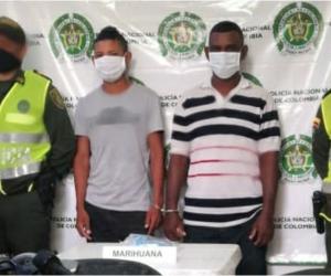 Los capturados fueron identificados como Gregorio Enrique De La Hoz De La Hoz y Javier Enrique Anaya Cantillo.