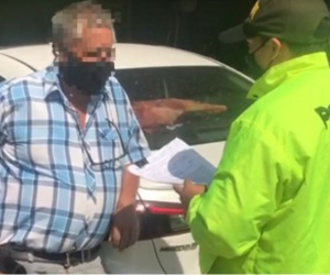Hombre capturado en el 11 de Noviembre.