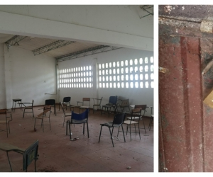 En el IED de Pedraza ya no hay casi nada que robar. Aún así, siguen entrándose los ladrones.