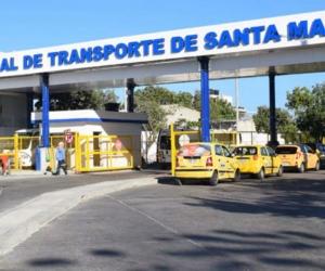 Terminal de Transportes de Santa Marta.