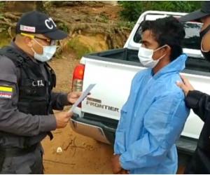 Ejército Nacional capturó a sicario perteneciente a 'Los Pachenca'.