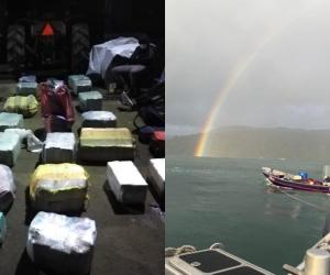 Estos alijos hacían parte de al menos otros tres cargamentos que debía recibir este mes provenientes del norte del Cauca.
