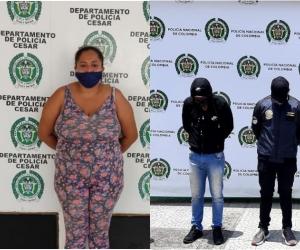 Mediante llamadas venían extorsionando en los municipios de Zapayán, Remolino, El Banco, Algarrobo, Ciénaga y el distrito de Santa Marta.
