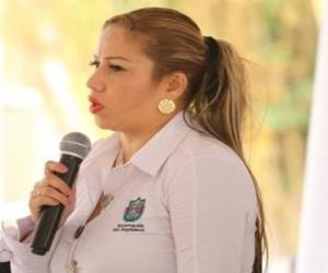Norma Vera, exsecretaria del Interior y defensora de los Derechos Humanos.