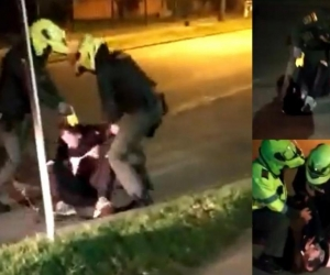 Momento del abuso policial contra Javier Ordóñez.