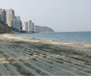 Playa en Santa Marta - referencia.