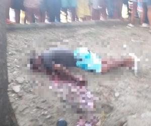 La víctima murió en el sitio.