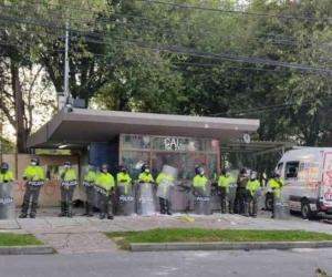 CAI del barrio Villa Luz en Bogotá.