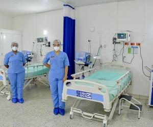 Las 12 camas, que se suman a las 24 entregadas recientemente por la administración departamental en los municipios de Ciénaga y Fundación.