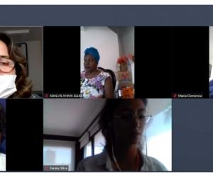 Conversatorio sobre el impacto de esta enfermedad en las mujeres del Caribe colombiano, organizado por la administración departamental.