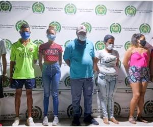 Este grupo de delincuencial se dedicaba al control del microtráfico en los barrios San José de El Pando y Murallas de El Pando.