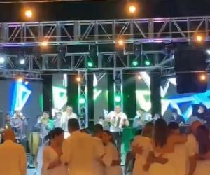 Varios grupos musicales se presentaron en la covid-parranda organizada por el cumpleaños de Marcos Petro.