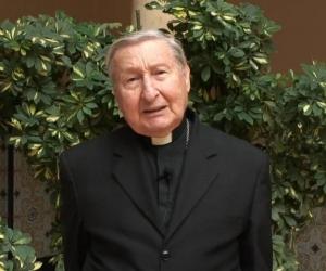 Hugo Puccini Banfi, obispo emérito.