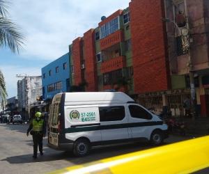 Explosión de artefacto en Barranquilla.