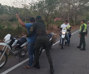 Operativos de la Policía en el Magdalena.