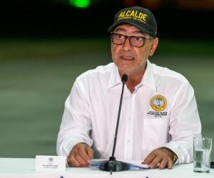Alcalde de Cartagena, William Dau Chamat.