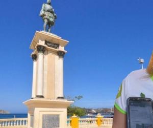 Virna Johnson, alcaldesa de Santa Marta, mostró su descontento con la comisión preparatoria de los 500 años.
