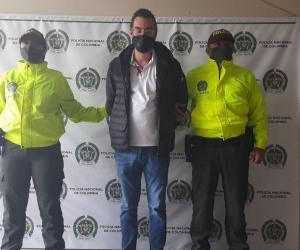 Alex Fernando Izquierdo, ecuatoriano capturado en Colombia.