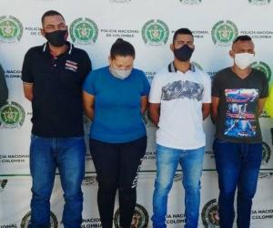 Presuntos integrantes de 'La Esquina'.