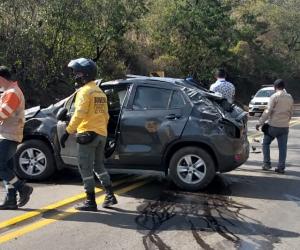 El accidente habría ocurrido por un microsueño del conductor.