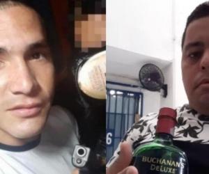 Tommy Yoel Zerpa Brito y Carlos Alberto Ortiz Blanco.
